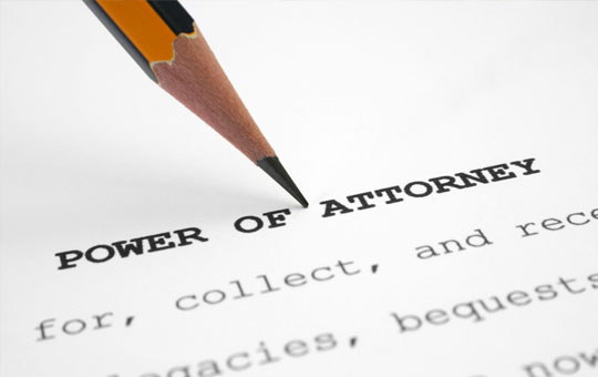 Powers of Attorney lawyer
